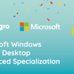 Eshgro behaalt de Microsoft Advanced Specialization Windows Virtual Desktop