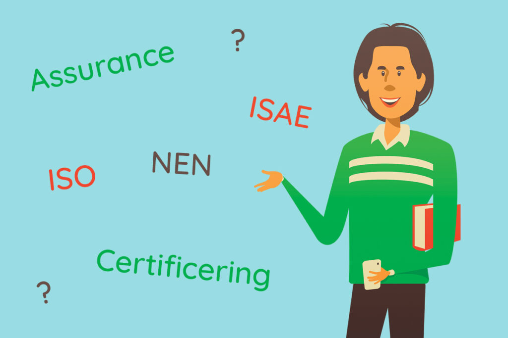 Compliance - Certificering - Assurance - ISO 27001 - ISAE 3402 type 2 - NEN 7510 - ISAE 3000A type 2 - ISO 9001