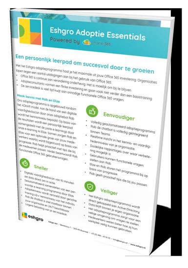 Product paper Adoptie Essentials