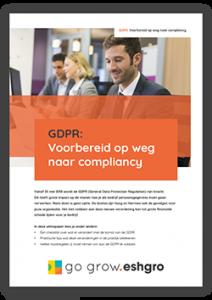 GDPR: Voorbereid op weg naar compliancy