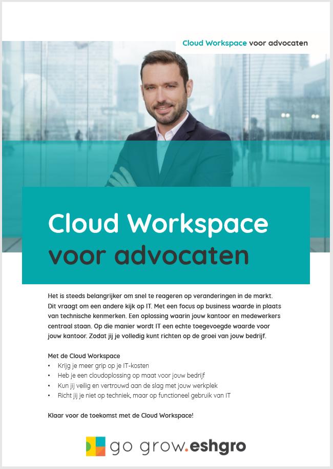 Whitepaper - Cloud Workspace voor Advocaten